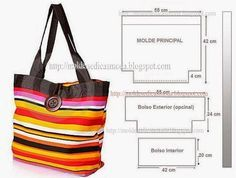 2 weeks ago Modelos de bolsos 33 Views 2 weeks ago Models of handbags 33 Views Graphic materials Gaby: 5 Beautiful models of bags with their … WITH THREAD AND FABRICS: Patterns of bags and purses Fabric Purses, Fabric Bags, Sacs Tote Bags, Diy Sac, Bag Patterns To Sew, Patchwork Bags, Simple Bags, Denim Bag, Big Bags