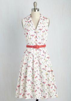 It's an Inspired Taste Dress in Birds