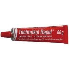 Technokol Rapid univerzális gyors ragasztó - Piros - 60 gramm - 329Ft