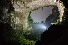 Son Doong Cave is in the heart of the Phong Nha Ke Bang National Park in the Quang Binh province of Central Vietnam. Only recently explored in 2009-2010 by the British Cave Research Association, the cave has only been open to the public since 2013.