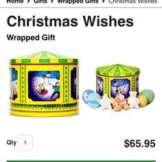 Christmas Wishes $69.95 http://www.lushusa.com/Christmas/christmas,en_US,sc.html