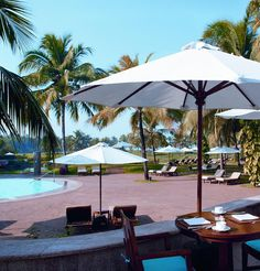 The Leela Goa, combines the opulence and luxury of 5-star hotels in a fun-packed resort by the beach. The hotel is set in the natural beauty and Portuguese heritage of South Goa thus making it the ultimate beach resort in Goa.   http://www.theleela.com/locations/goa