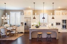 long narrow kitchen Highland Homes - one of the many gorgeous kitchen available. If you are in the market for a new home, I would be happy to help you. Give me a call today Long Narrow Kitchen, Long Kitchen, New Kitchen, Kitchen Dining, Kitchen Decor, Kitchen Ideas, Kitchen Tips, Dining Area, Dining Rooms
