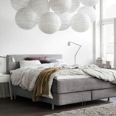 Sink back and relax with a comfy divan bed.