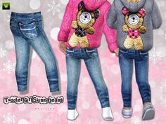 lillka's Toddler Girl Skinny Jeans ~ Outdoor