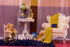 Prince baby shower party!  See more party planning ideas at CatchMyParty.com!