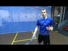 Nick Matthew Squash Coaching Tips Part 3 - Return of Serve - YouTube