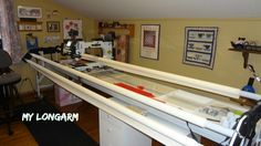 """I have a Longarm Quilting machine, my beloved Gladys. I bought her in 2010 and it's taken a while to get the hang of her. When I bought her, I got a spiel on the history but quite frankly, I didn't pay much attention. I wanted to learn how to quilt and now I want... <a href=""""http://www.chicagonow.com/quilting-sewing-creating/2015/06/12-lively-facts-about-longarm-quilting-machines/"""" class=""""more-link"""">Rea..."""