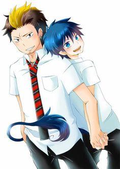 Rin & Bon (Blue Exorcist)