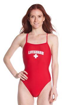 71a34449d396 One-Piece Lycra Swimsuit. Lifeguard ...