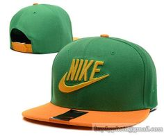 91795a76db0 Nike Snapback Green Orange
