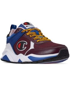 a2c90f4fa93 Champion Men s 93Eighteen Casual Sneakers from Finish Line - Red 11 Champion  Shoes