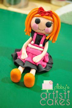 Flibby's Artisticakes: Lala Loopsy Gumpaste Figure Tutorial