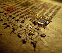 The 'Book of Kells' is an illuminated manuscript containing the four New Testament Gospels in Latin. It was created by Celtic Monks ca. 800 AD