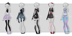 gachapon outfits 10 by kawaii-antagonist.deviantart.com on @DeviantArt