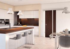 Interiérové dveře Sapeli 2017 - AKORD dýha wenge Decor, Table, House Design, Sweet Home, Furniture, Home Decor