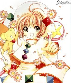 CLAMP, Cardcaptor Sakura, Cardcaptor Sakura Illustrations Collection 3, Kero-chan, Kinomoto Sakura, Sealing Wand 5