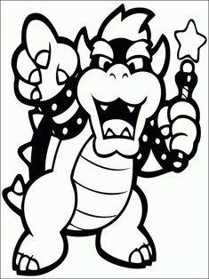 Desenhos para colorir Mario Bros1