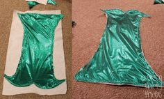 Handmade Costume Series: DIY Mermaid - Andrea's Notebook