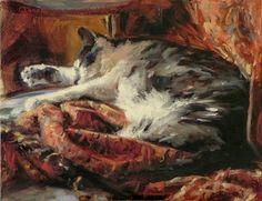 Jonelle Summerfield Oil Paintings: Asleep on a Blanket