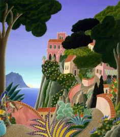 Capri (Southern Italy Suite) 20x22 by Thomas Frederick McKnight