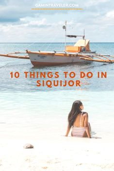 10 Best Things To Do in Siquijor, Philippines And Siquijor Travel Guide via @gamintraveler #siquijor #philippines #itsmorefuninthephilippines