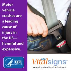 Learn more about the costs of crash injuries.  #VitalSigns