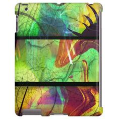 Painted Panes Abstract iPad Case