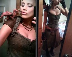 How to: Daenerys Targaryen Halloween Costume Daenerys Targaryen Costume Halloween, Dragon Halloween Costume, Asylum Halloween, Halloween Kostüm, Halloween Makeup, Kalessi Costume, Costume Makeup, Cool Costumes, Game Of Thrones Cosplay