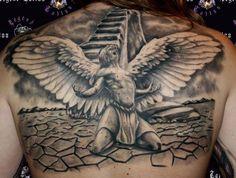 Картинки по запросу angel tattoos for men