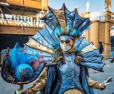 Wenecja ma swój sekret... Sea Costume, Monster Characters, Venice, Carnival, Fair Grounds, Costumes, Color, Life, Upcycling
