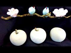 Beton DIY  Äpfel  einfach selber machen - YouTube