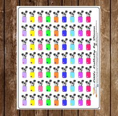 Makeup Brushes Planner Stickers  Erin by LittleLullabybyDiana