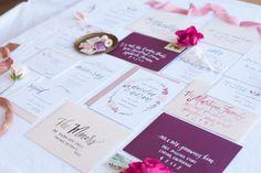 Calligraphy and Wedding Invitations from Prairie Letter Shop #bridesofok #calligraphy #weddinginvitations #wedding #oklahoma
