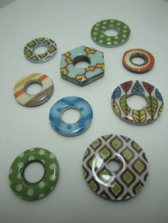 Goin' Over The Edge: Visiting the parts bin to make this pretty jewelry