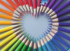 Color my Heart Everyday Objects Jigsaw Puzzle Ravensburger Puzzle, Image Crayon, Photo Macro, Satisfying Pictures, Rainbow Connection, Rainbow Aesthetic, Coloured Pencils, World Of Color, Over The Rainbow