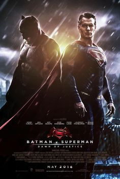 Last month, a new batman v superman: dawn of justice