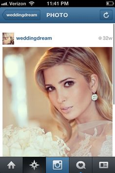 Ivanka bridal makeup