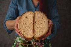 Zemiakový kváskový chlieb - Chuť od Naty: Foodlog o chutnom jedle a ... Bread, Food, Basket, Brot, Essen, Baking, Meals, Breads, Buns