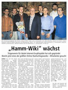 Gründung des HammWiki e.V.