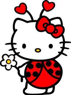 Hello kitty ladybug