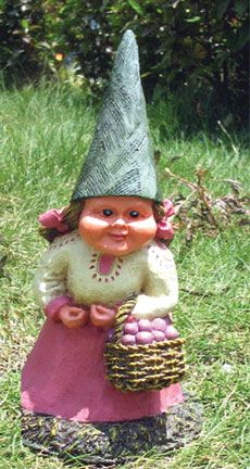 My Gnome, Mr. Gooms Is Lonely. He Needs To Meet Isabella The Lady