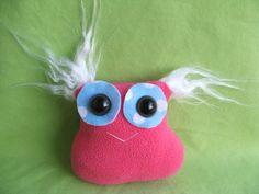 Monster handmade stuffed toy by FluffyFlowers on Etsy, $8.00