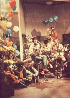 """lordkitchenersvalet: On this day in 1967, The Beatles performed """"All You Need Is Love"""" live via satellite to an estimated audience of 400 million people kicking off """"The Summer Of Love."""""""