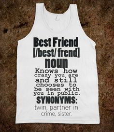 54 Trendy funny shirts for girls bff sisters Best Friend T Shirts, Bff Shirts, Best Friend Outfits, Best Friend Quotes, Cute Shirts, Funny Shirts, Best Friends, Best Friend Stuff, Sassy Shirts