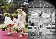 daminhas-casamento-vestido-curto-meias-pajens