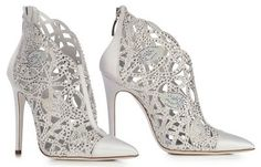 Lovely bride shoes