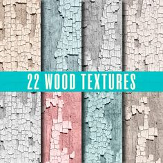 Wood Backgrounds Digital Papers Grunge by WhatIsScrapbooking, $0.50