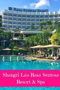 Shangri-La's Rasa Sentosa Resort is a luxury family-friendly hotel in Singapore, boasting a huge range of family-friendly facilities on the beach in Sentosa.