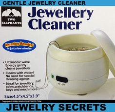 ► ► Two Elephants Jewelry Cleaner Review!